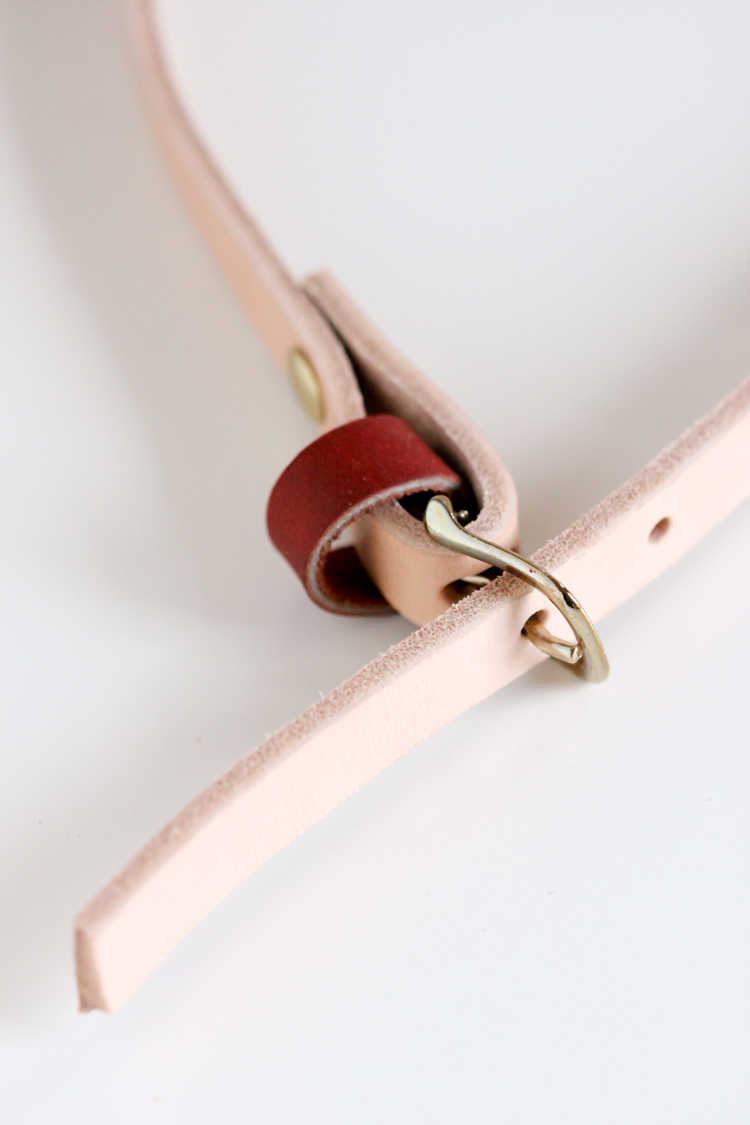 DIY Skinny Belt Tutorial // Delia Creates
