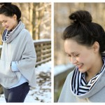 Popover Poncho Pattern Review + Giveaway
