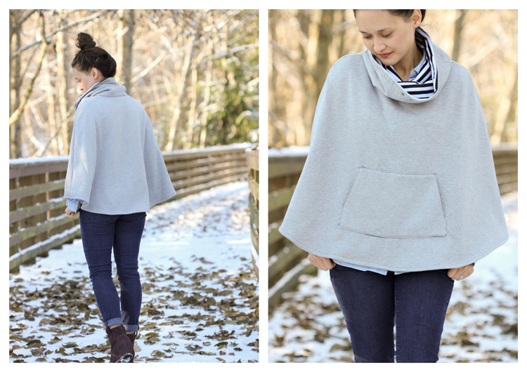 Popover Poncho Review + Giveaway // Delia Creates