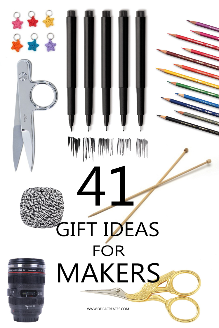 41 Gift Ideas for Makers // Delia Creates