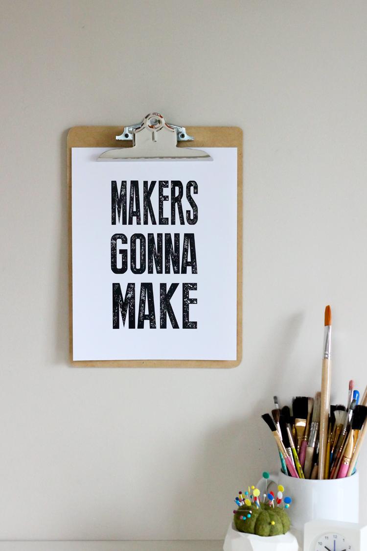 Free printable quotes // Delia Creates