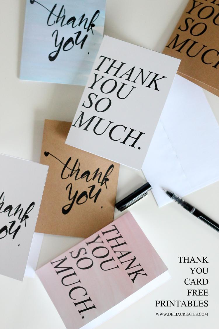 photograph regarding Free Printable Thank You Cards identify Cost-free Printable Thank Oneself Playing cards