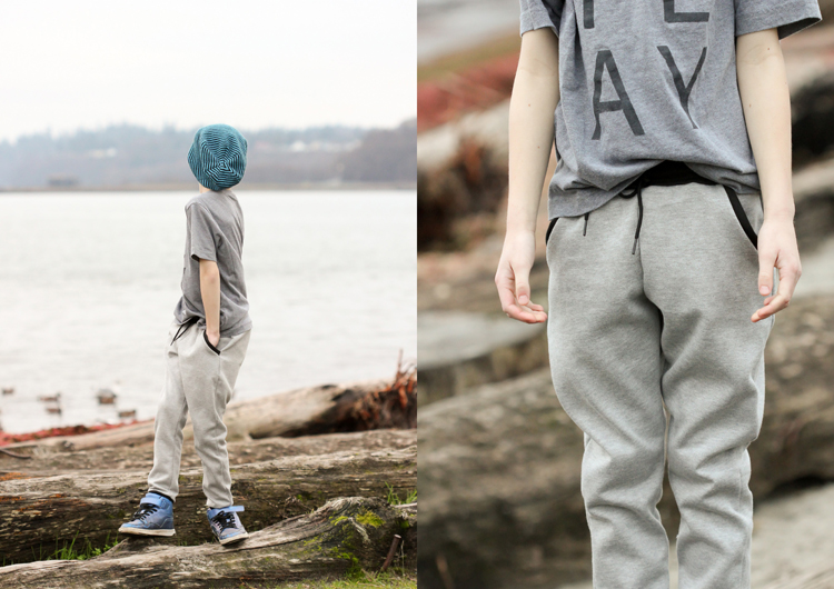 Mini Hudson Pants // Delia Creates
