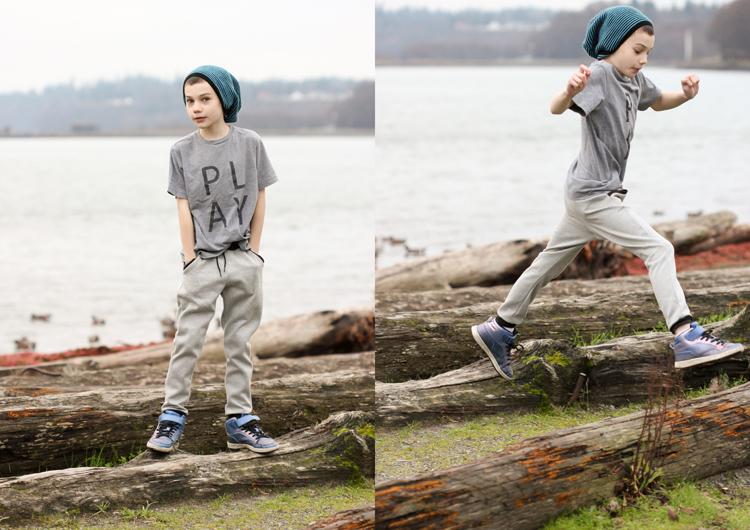 Mini Hudson Pants // Delia Creates