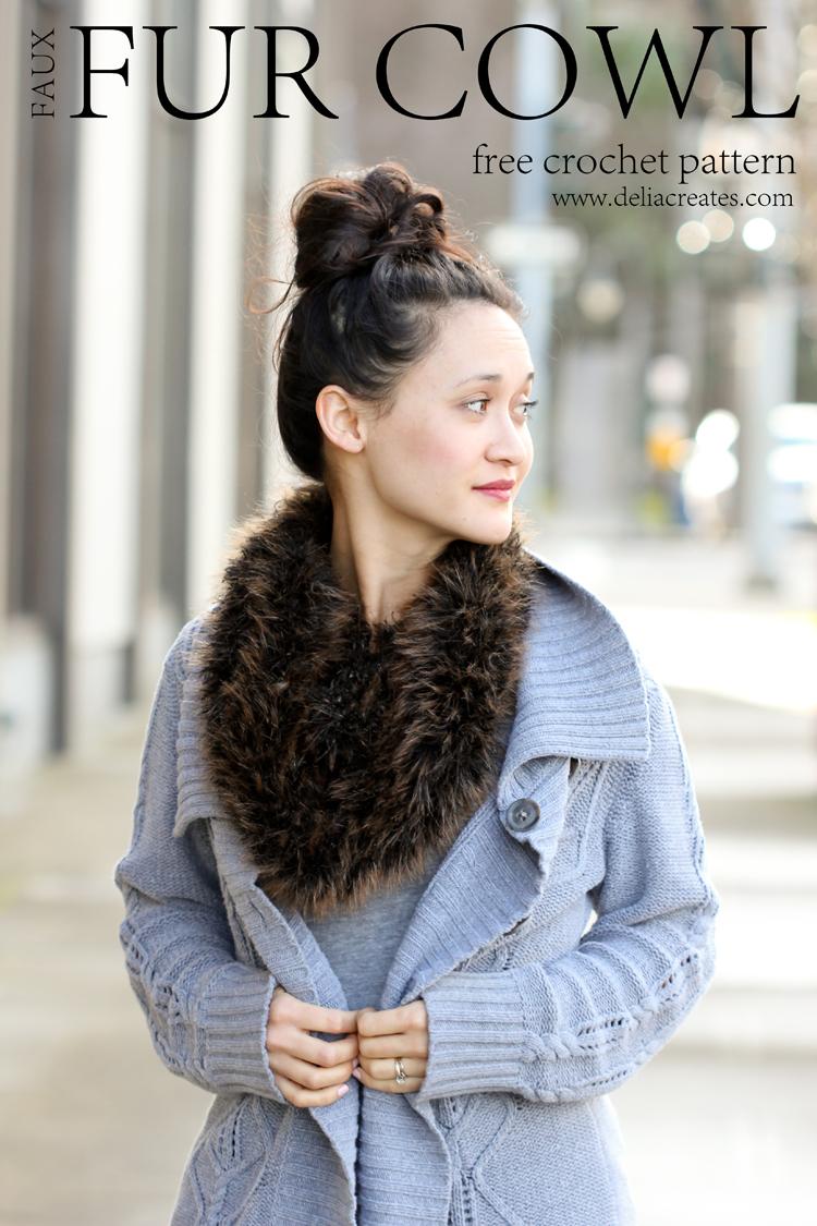 Crochet Fur Scarf – FREE PATTERN