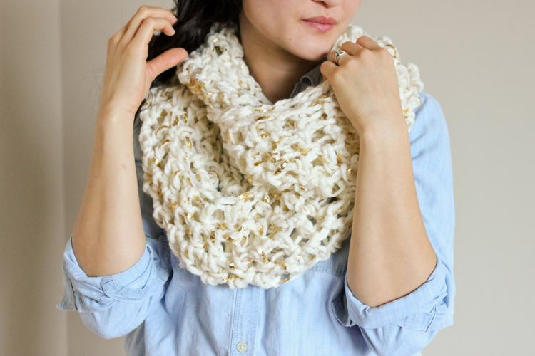 Chunky Crochet Infinity Scarf FREE PATTERN Fascinating Crochet Infinity Scarf Pattern In The Round