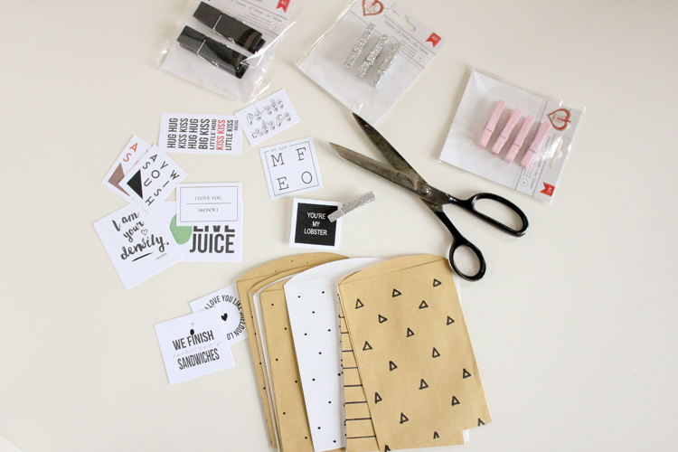 Pop Culture Valentine Treat Bags // Delia Creates