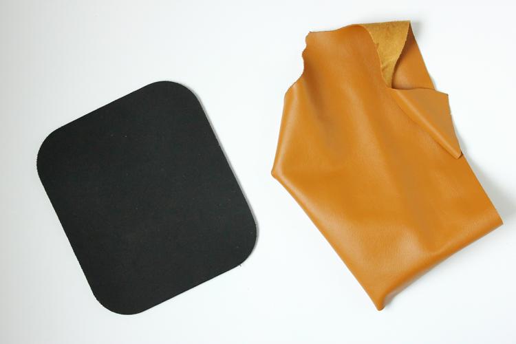 Super easy DIY Geometric Mouse Pad Tutorial // Delia Creates