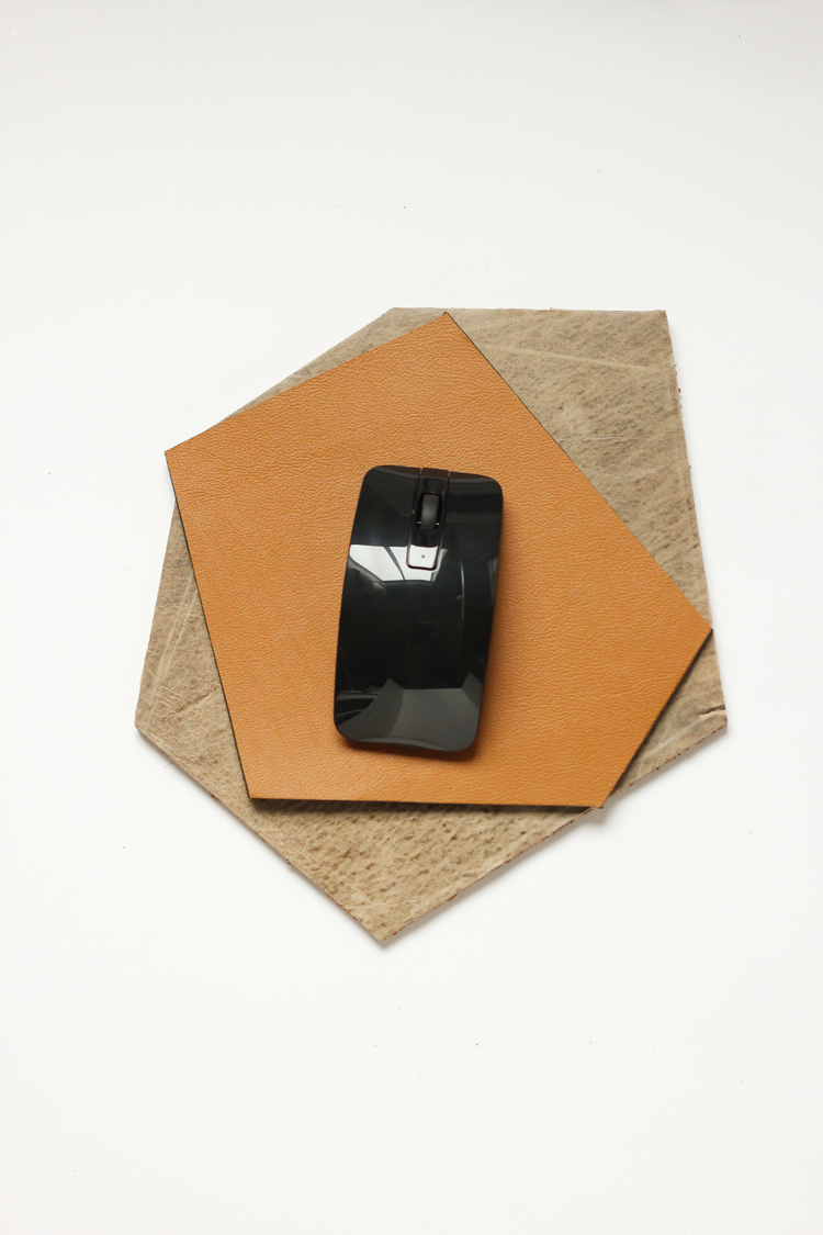 Geometric Leather Mouse Pad Tutorial