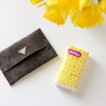 DIY Leather Travel Tissue Pouch TUTORIAL