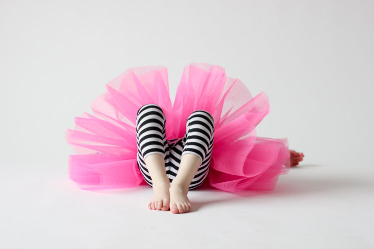 Gathered Tutu Tutorial - super easy to make! // Delia Creates