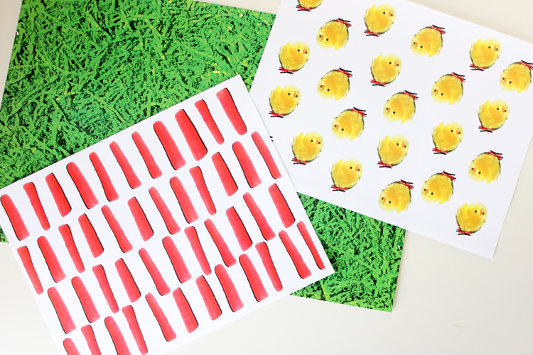 Easter paper - FREE Printables! // Delia Creates