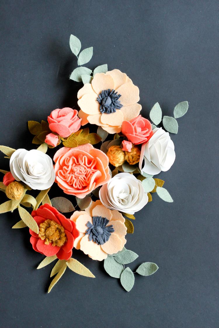 Paper Flower Crown Craft