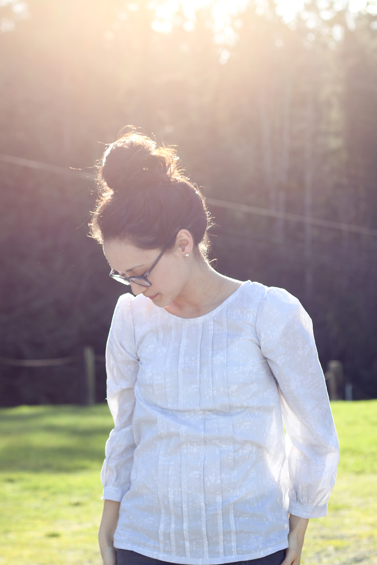 Josephine Blouse by Made by Rae // Sewn by Delia Creates
