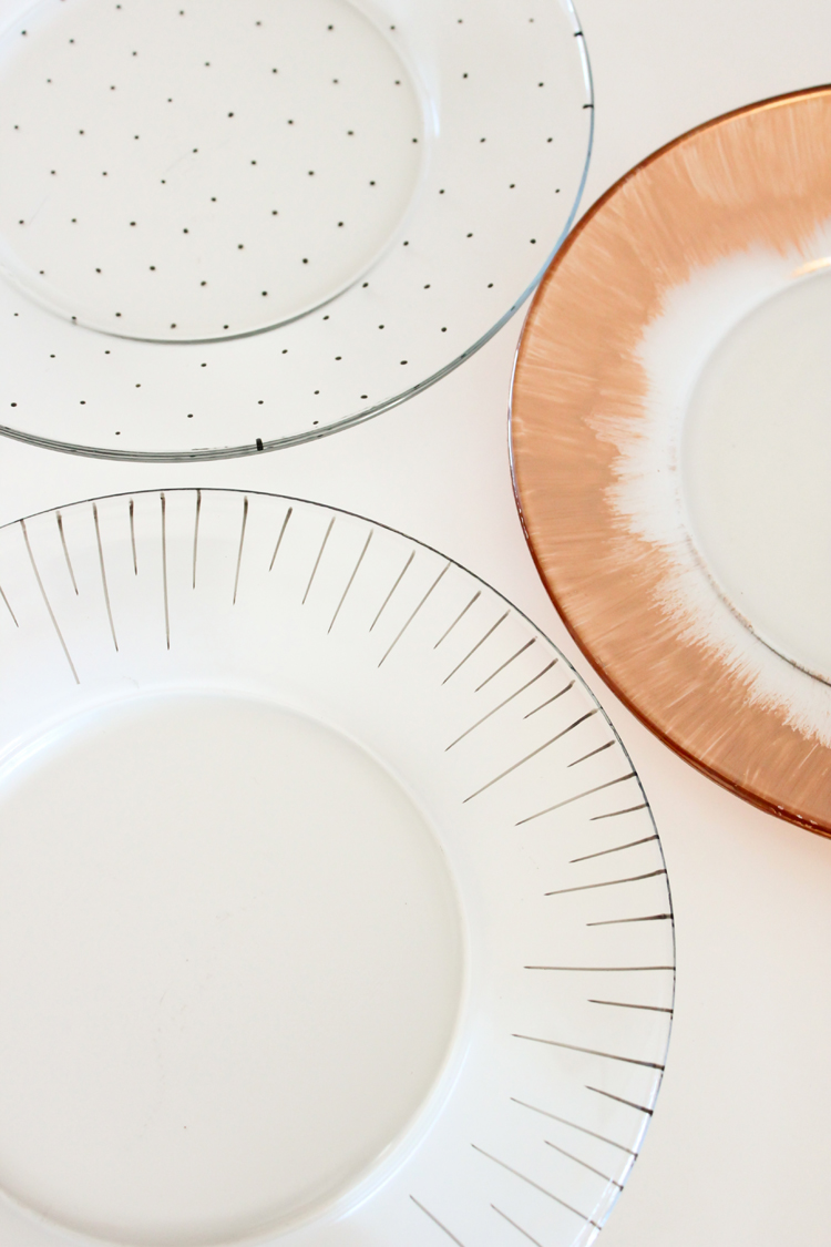 dishwasher safe painted dishes // Delia Creates