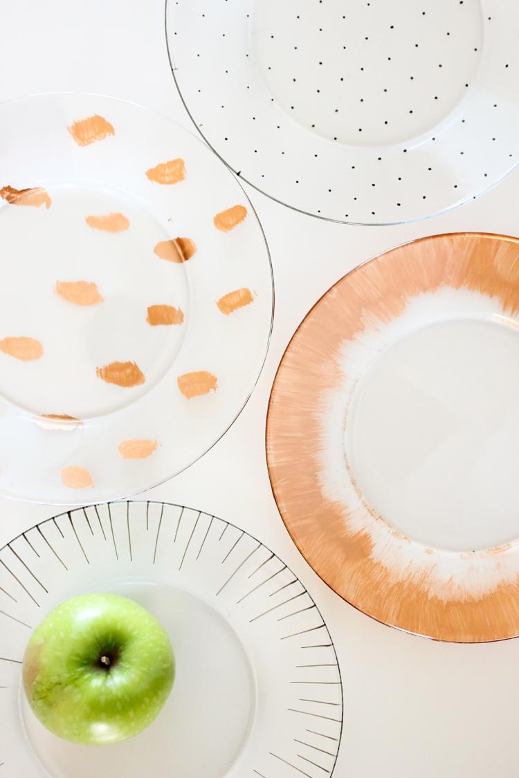 dishwasher safe painted dishes // Delia Creates