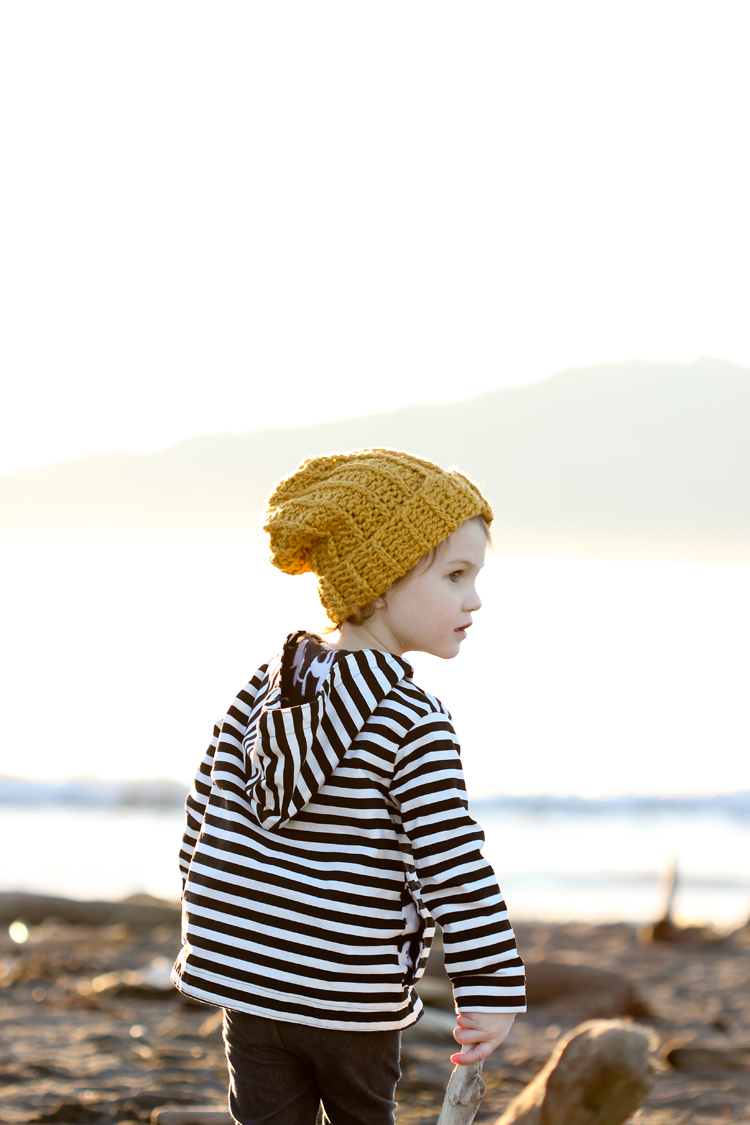 Rowan Hat - crochet pattern // Delia Creates