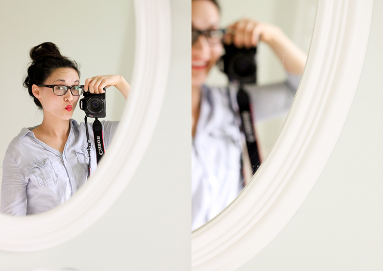 Momiform: my four step glasses and make up routine // Delia Creates