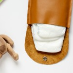 Simple Leather Diaper Clutch Tutorial