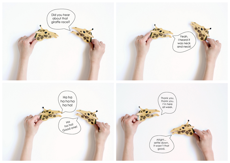 Zebra and crocodile clothespin puppets | DIY Kids Crafts You Can Make In Under An Hour