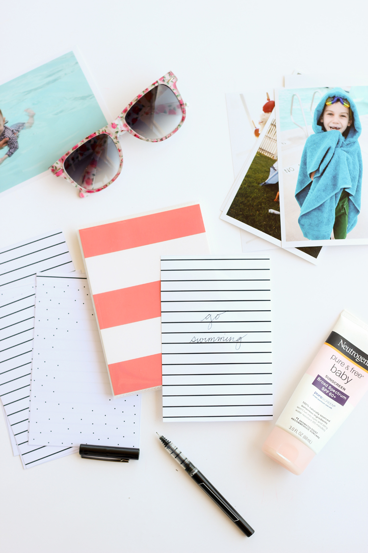photo album summer bucket list // Delia Creates