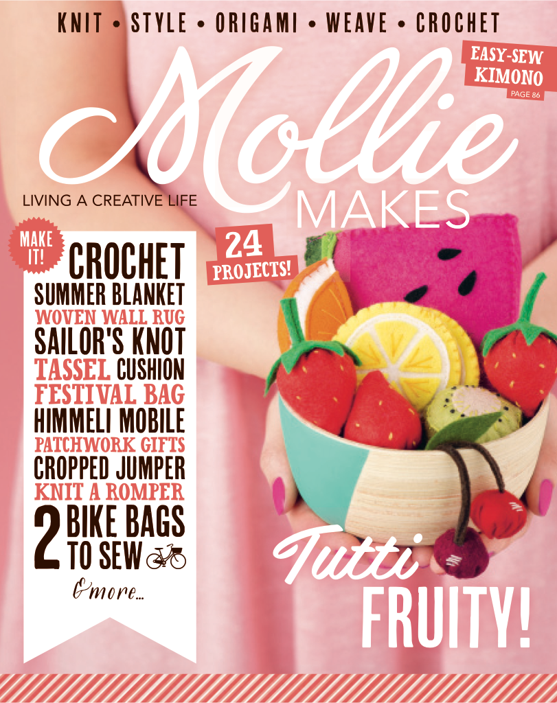 Mollie Makes issue 53 free on Apple Newstand!