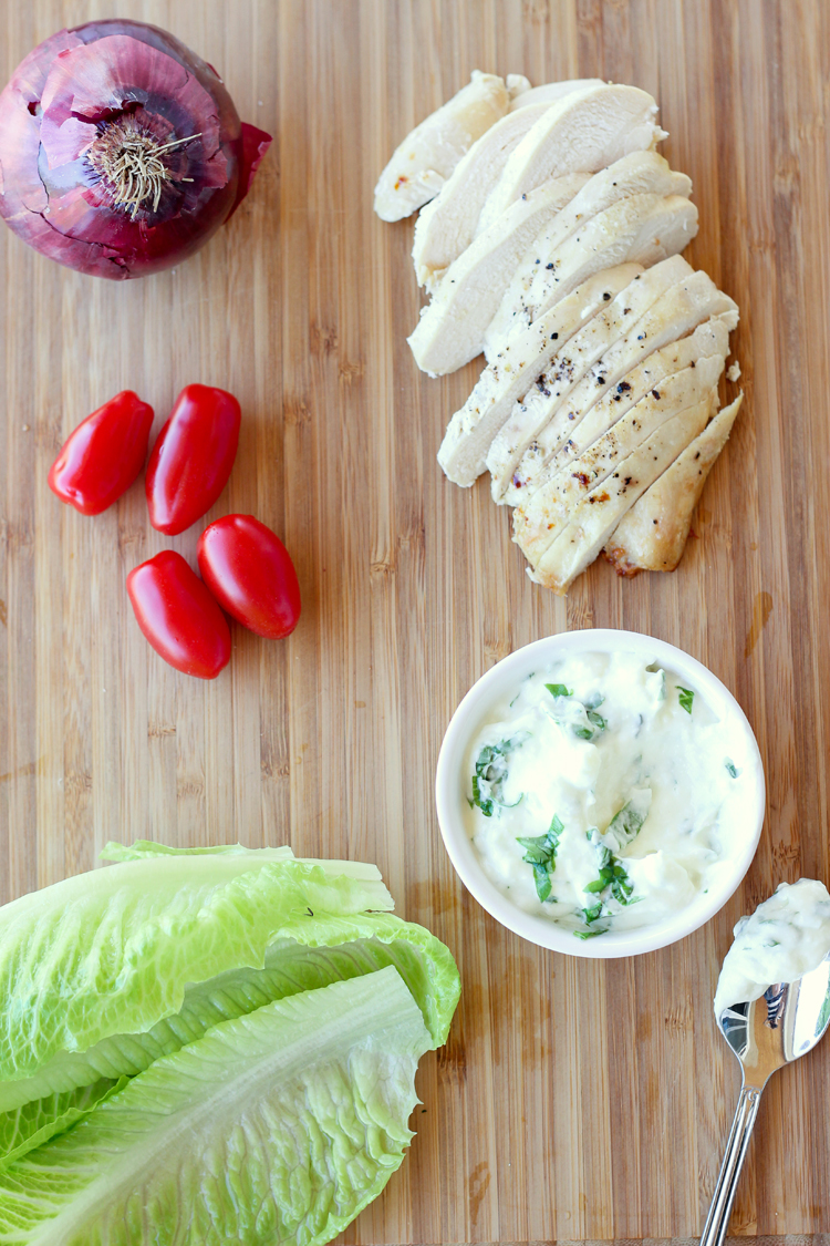 Great way to use up leftover chicken - Chicken Salad Wraps! // Delia Creates
