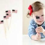Free Printable Miniature U.S. Flags