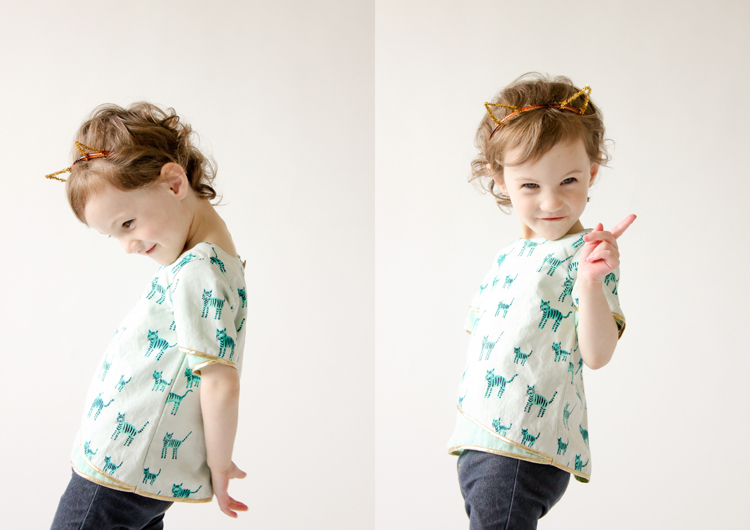 Tulip Top // Five and Ten Designs Volume 3 // Delia Creates