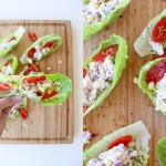 Leftover Chicken Salad Wraps