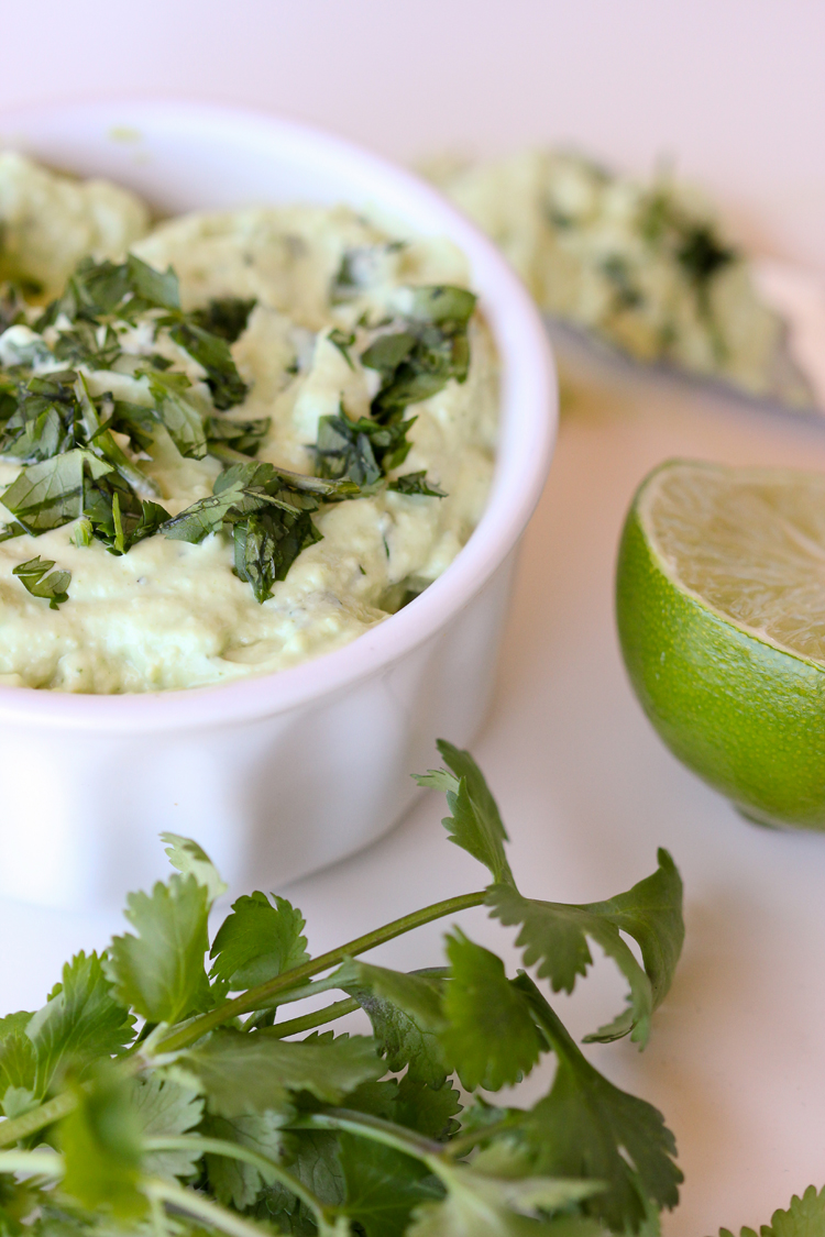 Cilantro + Lime Vegan Mayo Recipe // Delia Creates