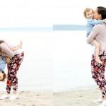 Momiform: Floral Hudsons Pants + Converse Kicks