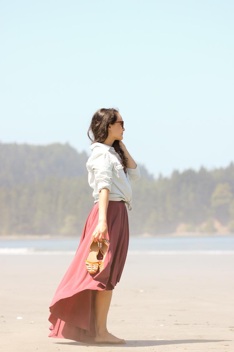 DIY Fishtail Circle Skirt TUTORIAL // Delia Creates