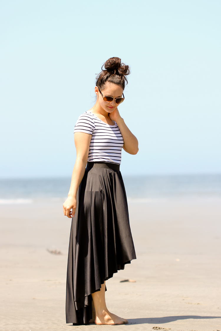 DIY Fishtail Circle Skirt TUTORIAL // Delia Creates