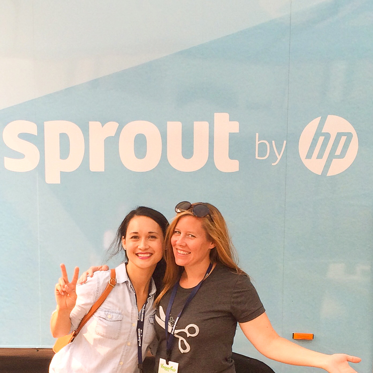 HP Sprout Truck Tour // Delia Creates