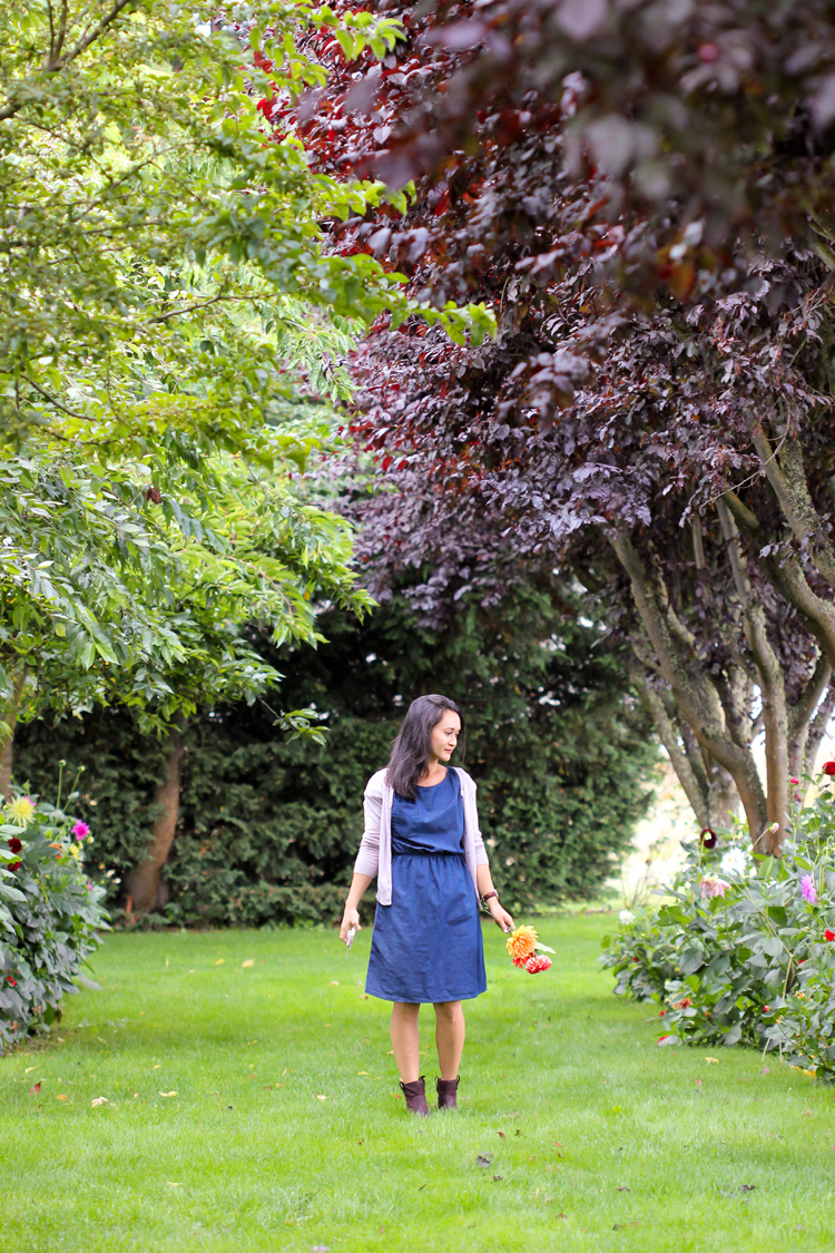 Denim Staple Dress // Delia Creates