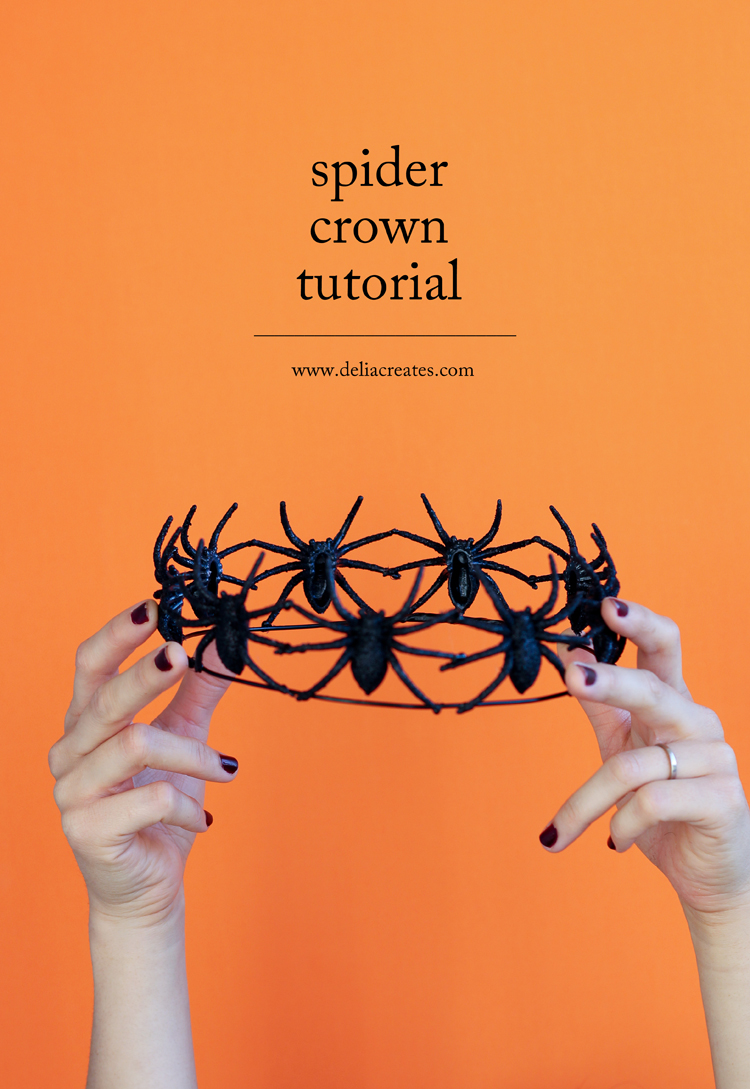 easy spider crown tutorial. Black Bedroom Furniture Sets. Home Design Ideas