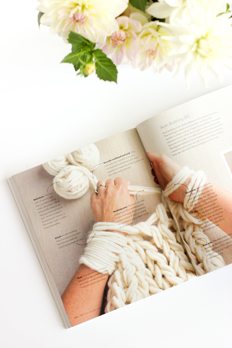 Knitting Without Needles Book Review // Delia Creates