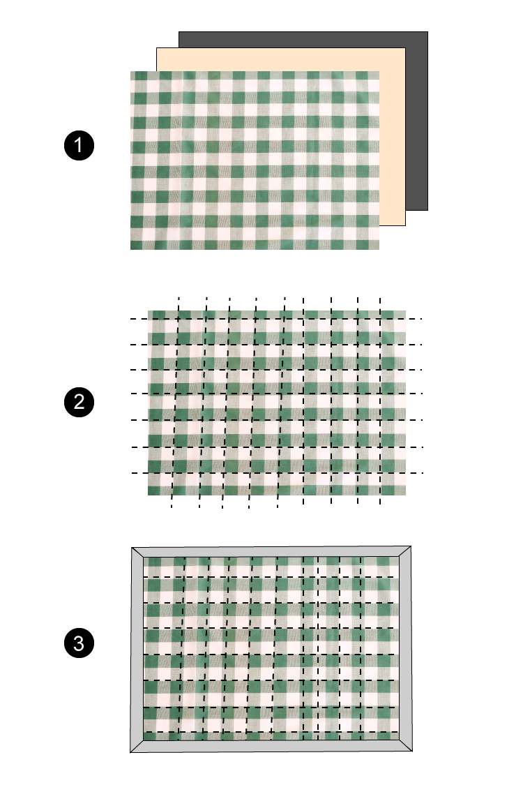 Gingham Baby Quilt TUTORIAL // Delia Creates