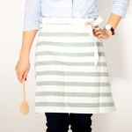 Easy Tea Towel Apron Tutorial + Baby Lock Sewing Machine Giveaway!