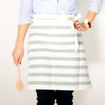 Easy Tea Towel Apron Tutorial + Baby Lock Sewing Machine Giveaway!
