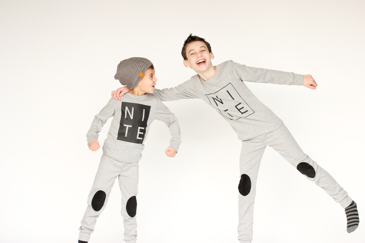 Simple, Modern Boys' Pajamas // Delia Creates