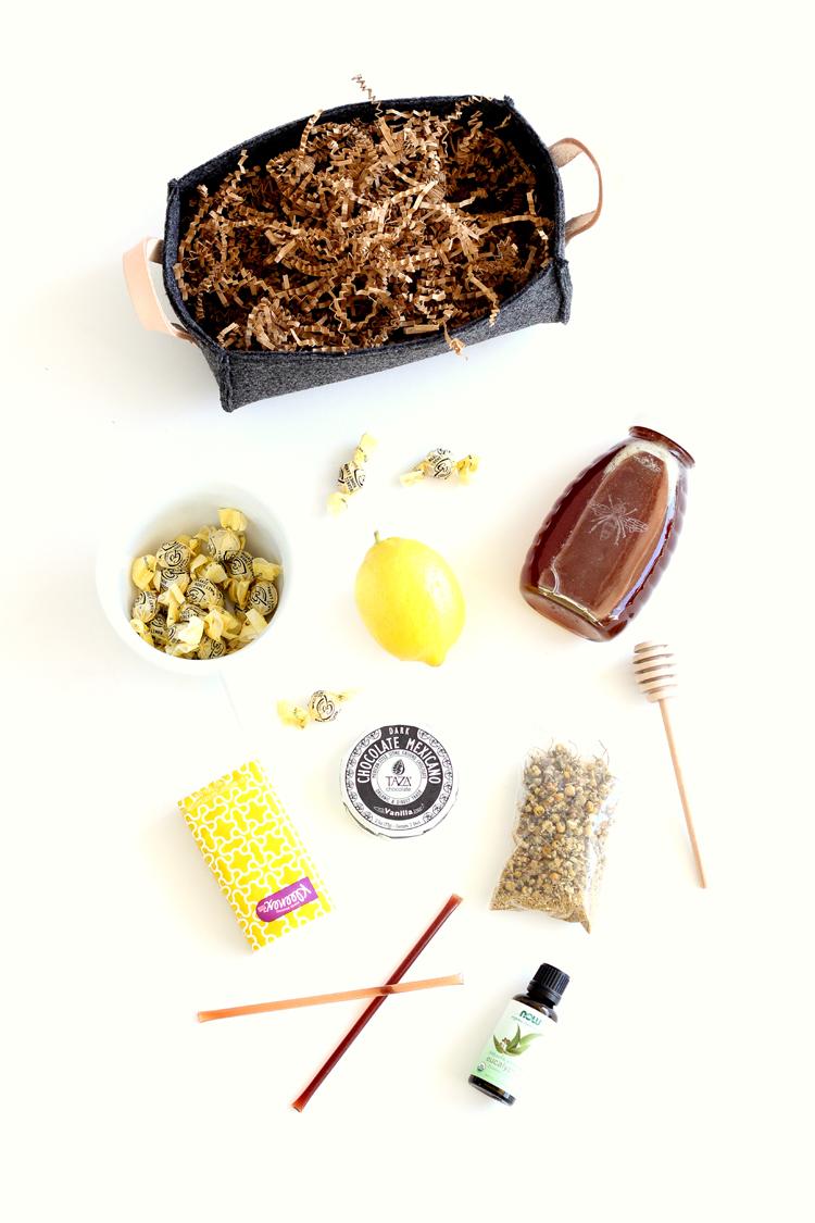 DIY Faux Industrial Felt Basket TUTORIAL // Delia Creates
