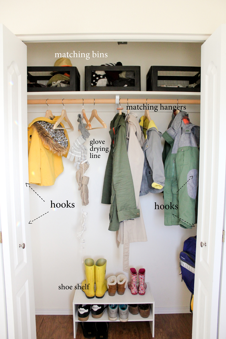 Coat Closet Organization Delia Creates
