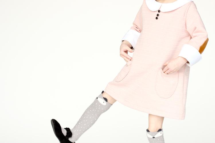 Pink Shift Dress // Delia Creates