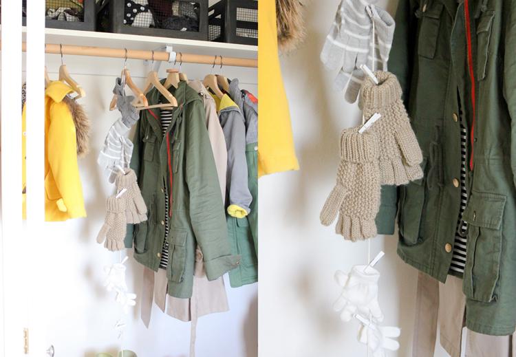 Coat Closet Organization // Delia Creates