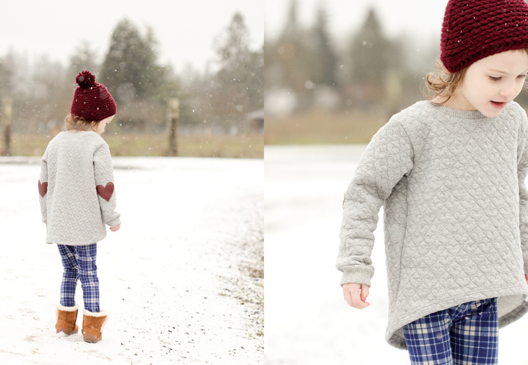 Mini Briar Sweater & Virginia Leggings Review// Delia Creates