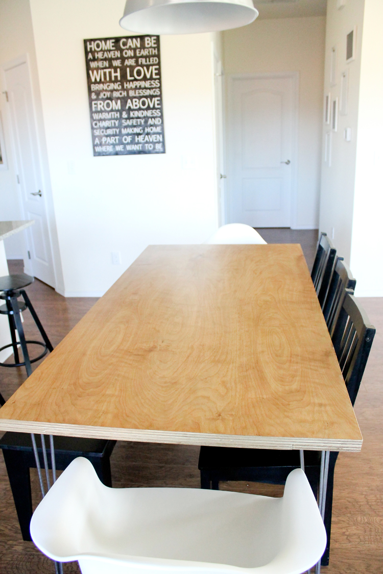 How To Make A Ply Kitchen Table Top