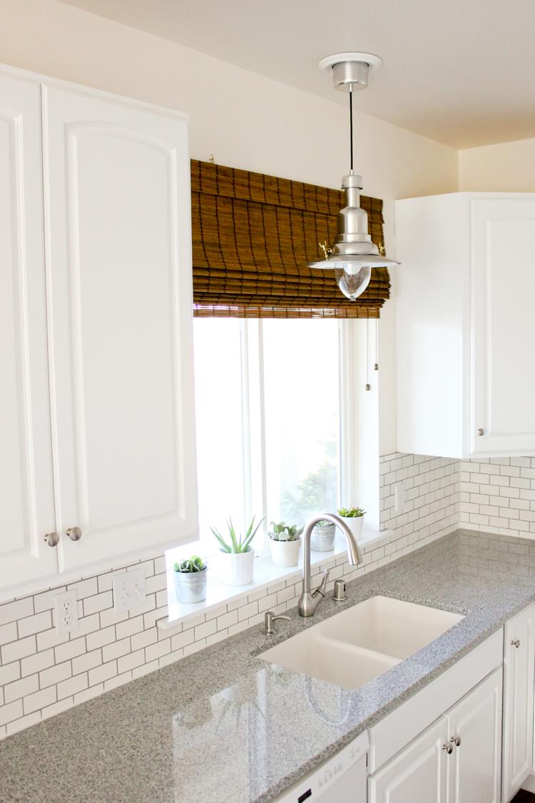Kitchen Renovation Series Counter Tops Sink Lighting Window