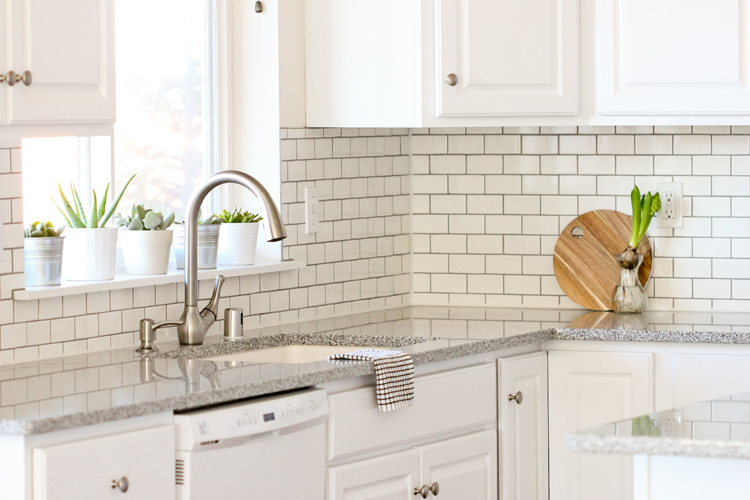 How Much To Install Backsplash Set Kitchen Renovation Series Installing A Tile Back Splash